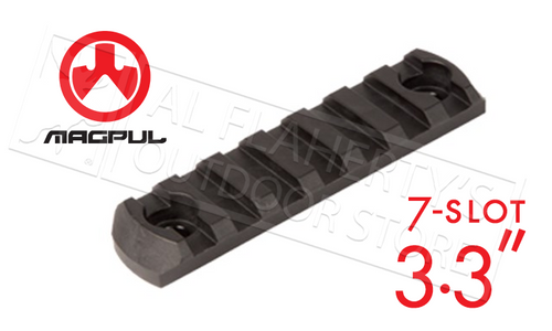 MAGPUL M-LOK ALUMINUM RAIL, 7 SLOTS #MAG582