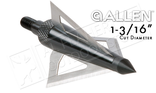 Allen Broadhead Grizzly Three Blade #14625