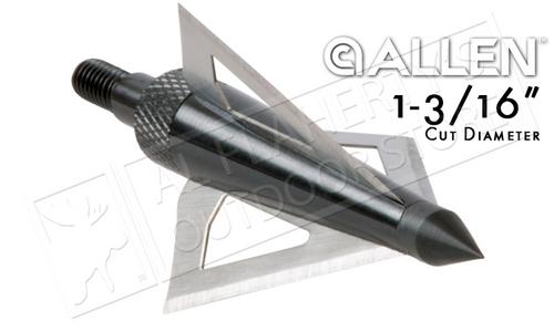Allen Broadhead Grizzly Three Blade - 125 Grain Pack of 3 #14625
