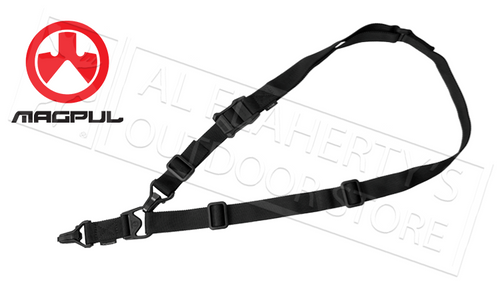 MAGPUL MS3 SLING GEN2, SINGLE-POINT OR TWO-POINT ADJUSTABLE, BLACK #MAG514-BLK