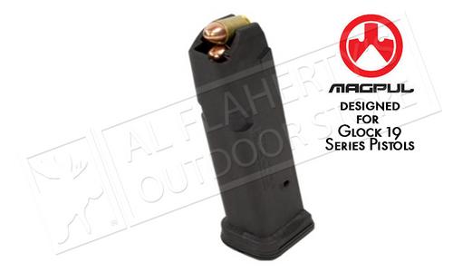 MAGPUL PMAG GL9 GLOCK 19 MAGAZINE, 10-ROUND 9MM #MAG550-BLK-10