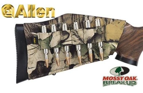 Allen Buttstock Rifle Shell Holder Mossy Oak Break-Up #20123