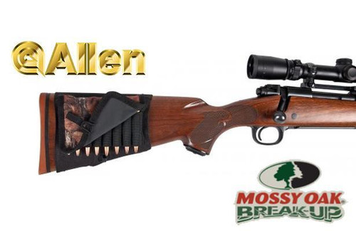 Allen Buttstock Rifle Shell Holder with Cover #2069