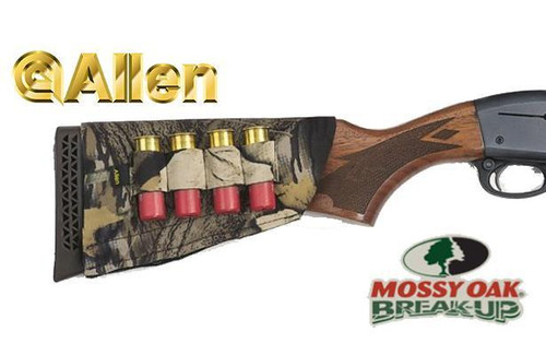 Allen Buttstock Shotgun Shell Holder Mossy Oak Break-Up #20143