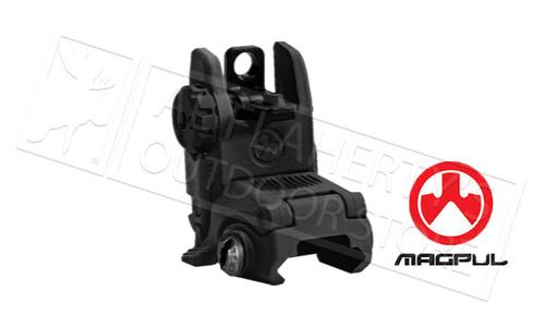 MAGPUL MBUS BACK-UP REAR SIGHT - BLACK #MAG248-BLK