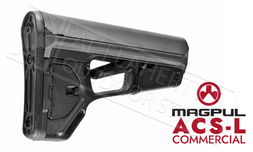Magpul ACS-L Carbine Stock Commercial Model Black, FDE or Grey #MAG379