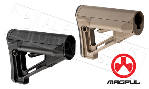 MAGPUL STR CARBINE STOCK COMMERCIAL MODEL BLACK OR FDE #MAG471