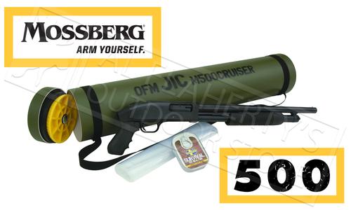 "Mossberg 500 JIC Cruiser, 12 Gauge, 18.5"" Barrel, 3"" Chamber #51340"
