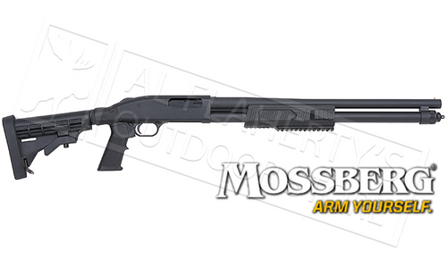 "MOSSBERG 590 FLEX TACTICAL, 12 GAUGE, 3"" CHAMBER, 22"" BARREL #51672"