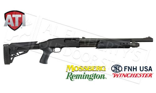 ATI T3 TACTLITE SHOTGUN STOCK FOR REMINGTON WINCHESTER FNH SAVAGE & TRISTAR PUMP SHOTGUNS #B.1.10.2007