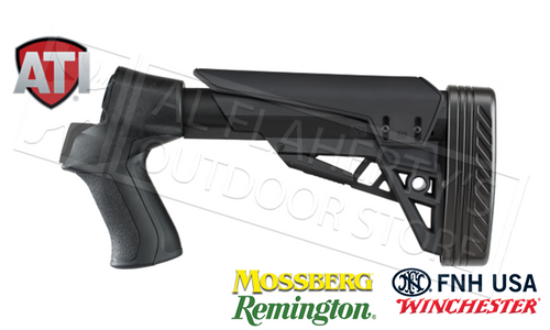 ATI T3 TACTLITE SHOTGUN STOCK FOR REMINGTON WINCHESTER FNH SAVAGE & TRISTAR PUMP SHOTGUNS #B.1.10.2007