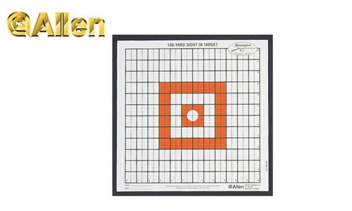 Allen Grid Target 100 Yard Sight-In #1520