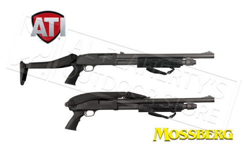 ATI SHOTFORCE TOP-FOLDING SHOTGUN STOCK FOR MOSSBERG, REMINGTON, AND WINCHESTER PUMP-ACTION #TFS0600
