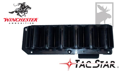 TACSTAR SIDESADDLE SHOTSHELL CARRIER FOR WINCHESTER 1200/1300 SHOTGUNS, 6-SHOT #1081161