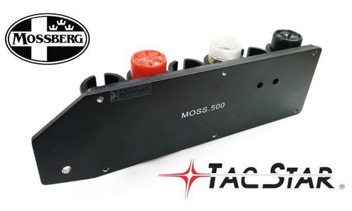 TACSTAR SHOTGUN SIDESADDLE SHOTSHELL CARRIER FOR MOSSBERG 500 & 590 SERIES, 6-SHOT #1081159