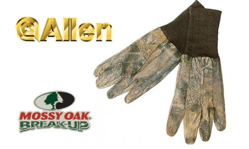 Allen Mesh Gloves Mossy Oak Break-Up #1513