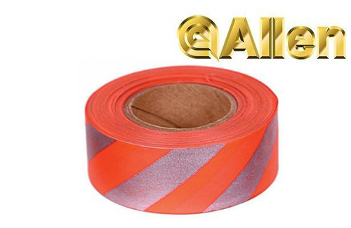 Allen Reflective Flagging Tape, 150 Feet #46
