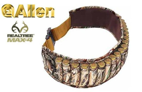 Allen Shell Belt Neoprene Realtree Max-4 Camo #2525