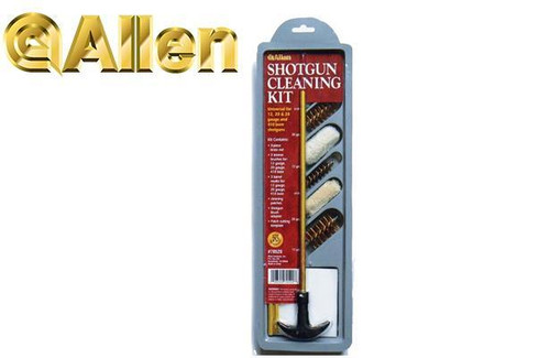 Allen Shotgun Cleaning Kit for 12/20/28/410 Gauge #70520