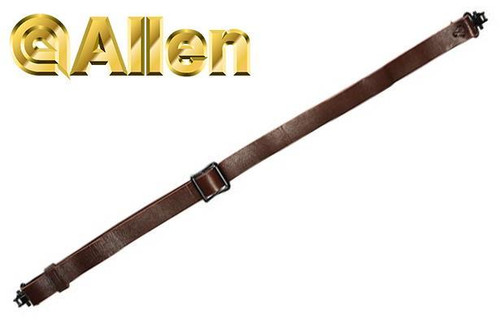 Allen Slide & Lock Leather Sling with Swivels #8432