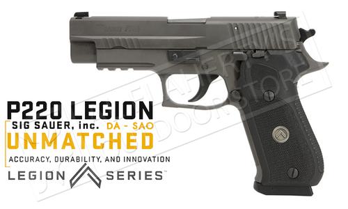SIG Sauer Handgun P220 Legion 45ACP, Double or Single Action #220R45LEGION
