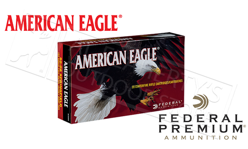 Federal American Eagle 30-06 SPRG, JHP 150 Grain Box of 20 #AE3006N
