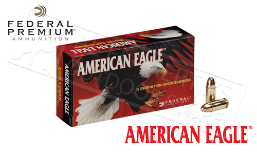 Federal American Eagle 45ACP, FMJ 230 Grain Box of 50 #AE45A