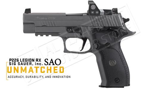 SIG Sauer Handgun P226 Legion RX SAO 9mm with ROMEO1 Reflex Sight #SIGLE26R9LEGIONRX