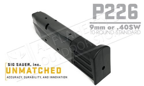 SIG Sauer Magazine P226 9mm or 40SW 10-Round #MAG-226