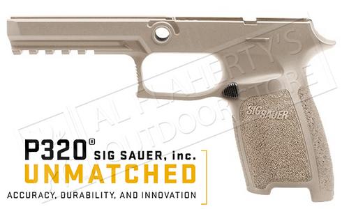 SIG Sauer P320 Full Grip Module for 9mm 40SW .357SIG, FDE #GRIP-MOD-F-FDE