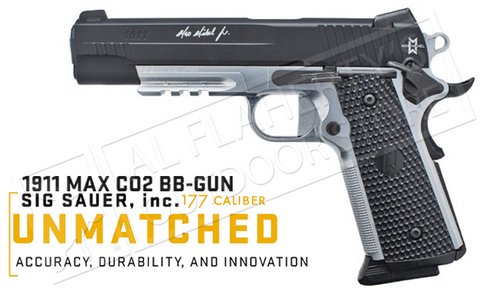 SIG Sauer Air Pistol 1911 Max .177 Caliber BB #SIGCAIR1911BBMM