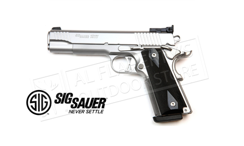 SIG Sauer Handgun 1911 Traditional Match Elite Stainless, 9mm #1911-9-SME-DE