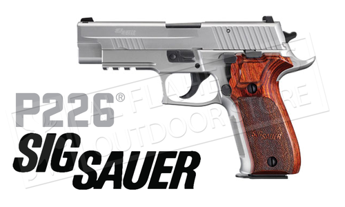 SIG Sauer Handgun P226 Elite Stainless 9mm #E26R-9-SSE