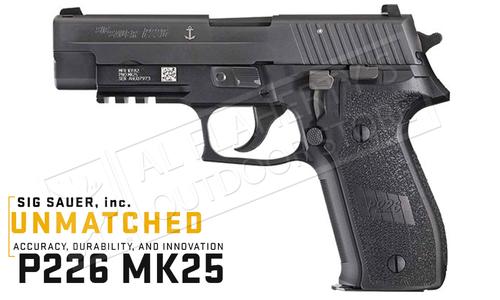 SIG Sauer Handgun P226 MK25 Navy 9mm #MK25