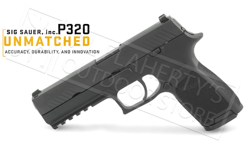 SIG Sauer Handgun P320 with Contrast Sights 9mm #320F-9-B-10