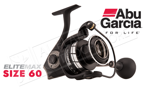 Abu Garcia Elite Max Spinning Reel, Sizes 30 40 and 60 #EMAXSP