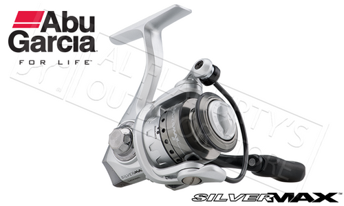 ABU GARCIA SILVER MAX SPINNING REEL, SIZE 10, 30 AND 40