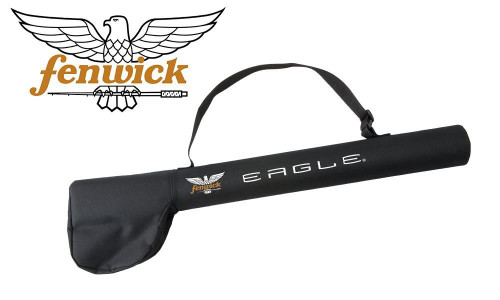 """Fenwick Eagle Fly Rod with Travel Case, 8'6"""" or 9', 5 Weight, 4 Pieces"""