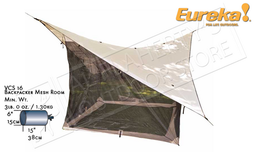 EUREKA VCS 16 BACKPACKER'S MESH ROOM EXTENSION #2699753