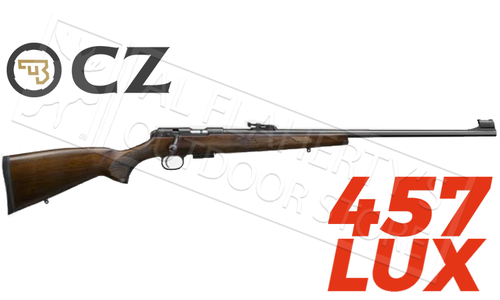 CZ 457 Lux Rimfire Rifle - Various Calibers