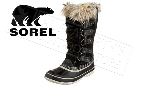 SOREL JOAN OF ARCTIC BOOT - BLACK - WOMEN'S #NL1540010