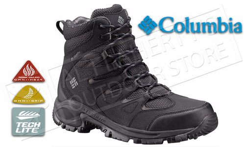 COLUMBIA GUNNISON PLUS BOOT WITH OMNI-HEAT, SIZES 8-12 #1728591
