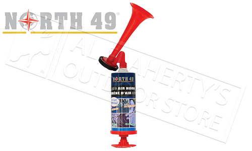 NORTH 49 ECO AIRHORN WITH PUMP, SMALL #2877