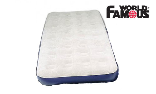WORLD FAMOUS DOUBLE AIR MATTRESS #7890