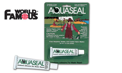 WORLD FAMOUS AQUASEAL SEAM SEALANT #1206