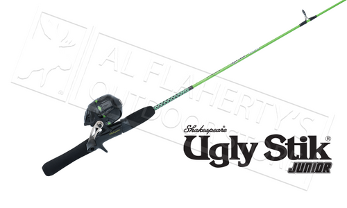 "UGLY STIK JR. SPINCAST COMBO, 3'8"" ROD"