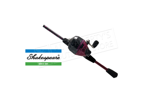 """Shakespeare Amphibian Spincast Youth Combo, 5'6"""" , Pink #AMPSCPBO"""