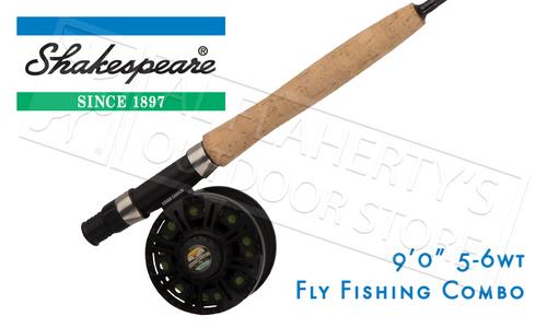 SHAKESPEARE SHAKESPEARE CEDAR CANYON PREMIER FLY FISHING COMBO, 9FT 4-PIECE 5/6WT