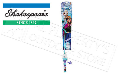 SHAKESPEARE DISNEY FROZEN SPINCASTING FISHING COMBO