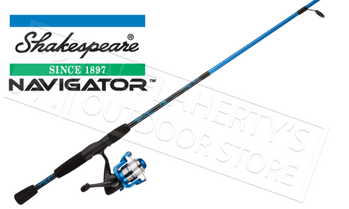 SHAKESPEARE NAVIGATOR SPINNING COMBO, 6FT ROD & REEL